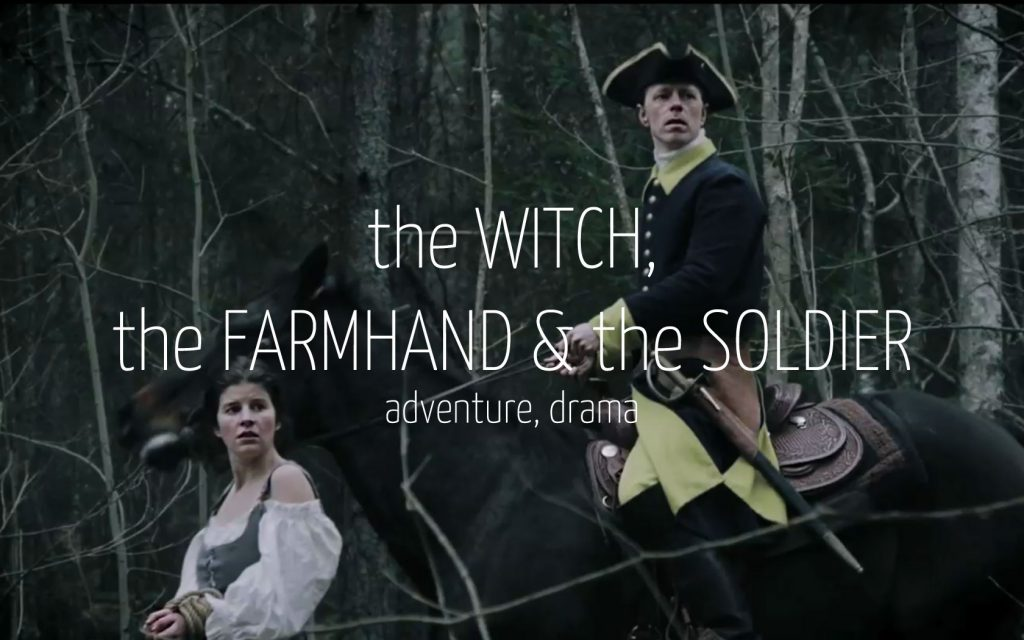 Scandinavian actor Fredrik Wagner as soldier in adventure drama film The tale about the witch the farmhand and the soldier