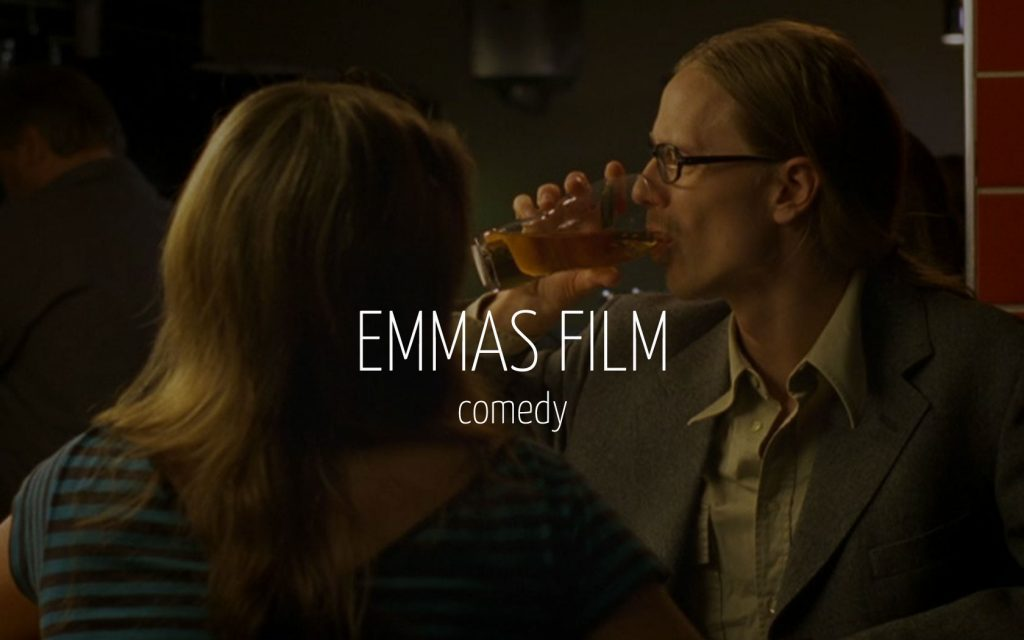 Scandinavian actor Fredrik Wagner as world of warcraft nerd in comedy film Emmas film