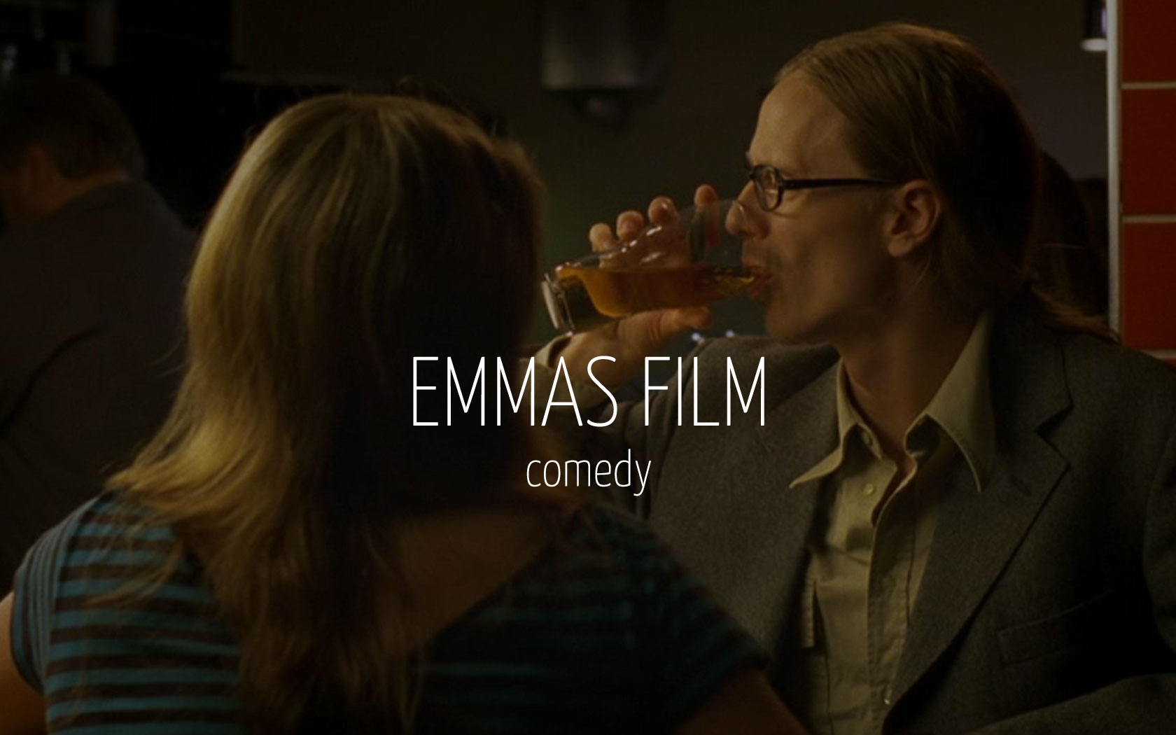 Scandinavian actor Fredrik Wagner as world of warcraft nerd in comedy film Emmas film