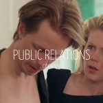 Scandinavian actor Fredrik Wagner as one night stand in comedy film Public relations