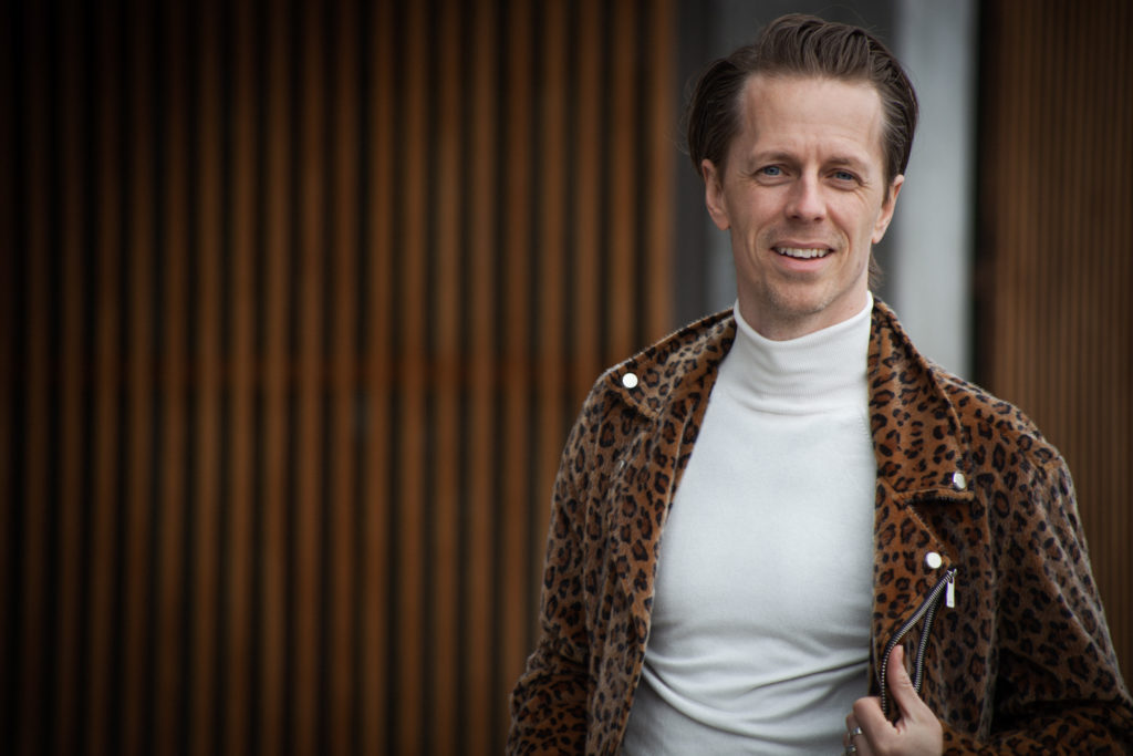 Scandinavian actor Fredrik Wagner