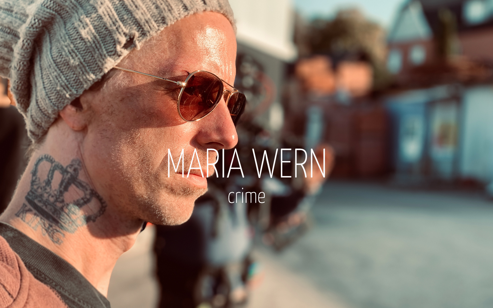 Scandinavian actor Fredrik Wagner as Marcus Kurhonen in crime drama film Maria Wern
